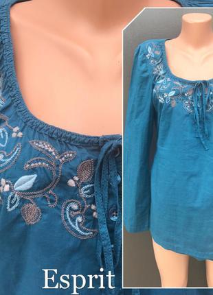 Рубашка-вышиванка(блузка).состояние нового!