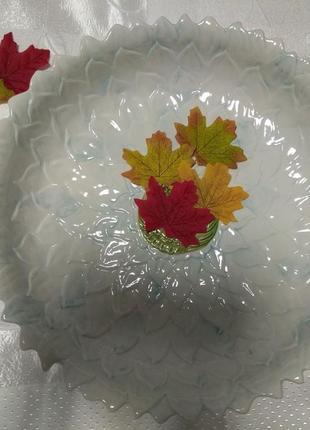 Тарелка керамическая, блюдо.