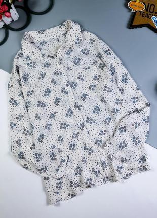 Рубашка zara на 13-14 лет/164 см