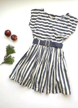 Классное полосатое платье dorothy perkins
