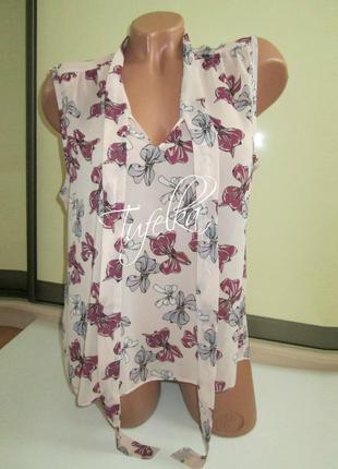 Блузка с бантиками dorothy perkins