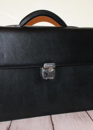 Neri karra классический кожаный портфель 100% натуральная кожа