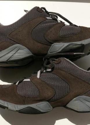 Замшевые трекинговые кроссовки сlarks, дл. 26,5 см