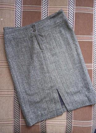 Тёплая юбка - карандаш 48р