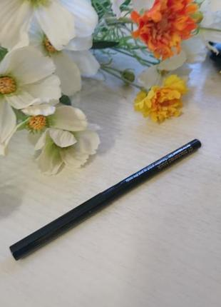 Черный карандаш для глаз clinique, автомат