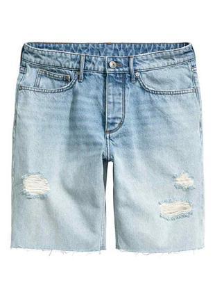 Крутые шорты-бойфренды, размер 10 (36 eur)