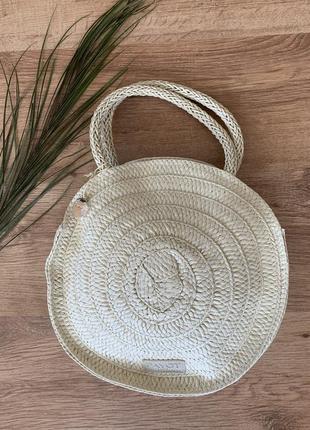 Payot вязанная сумка бежевая