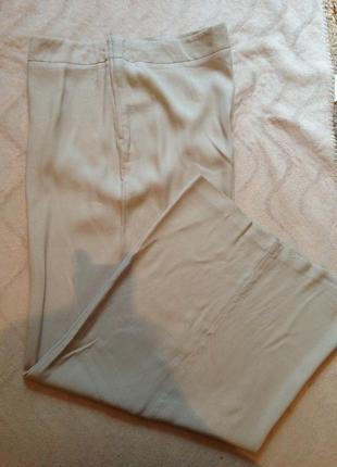 Шикарные брюки-юбка с высокой посадкой
