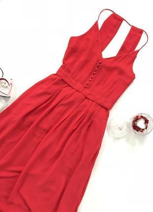 Шикарное платье миди yas размер s y.a.s