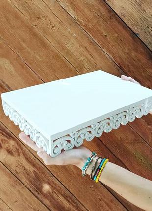 Підставка корзинка тортівниця квіти для кенді бар під торт кенди тортовница подставка