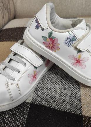 Белые кросовочки  lc waikiki