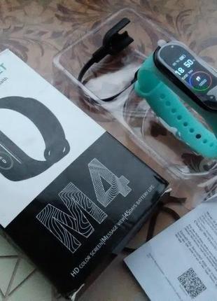 Smart bracelet m4 (фитнес браслет-часы)