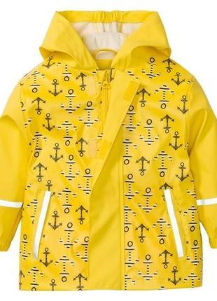 Куртка грязепруф, дождевик lupilu 86-92, 98-104, 110-116, 122-128р