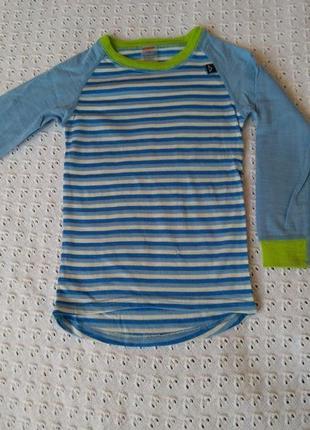 Термореглан з мериносової шерсті термобілизна лонгслив футболка термо термобелье