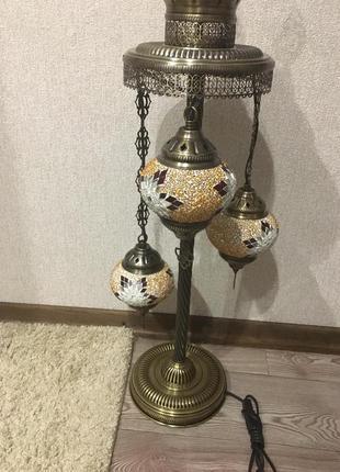 Дизайнерский торшер напольный светильник в восточном стиле