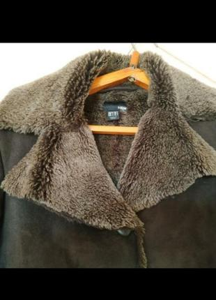 Курточка дубленка h&m