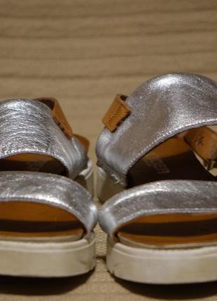 Чудесные комбинированные кожаные босоножки l'idea швейцария/италия 38 р.