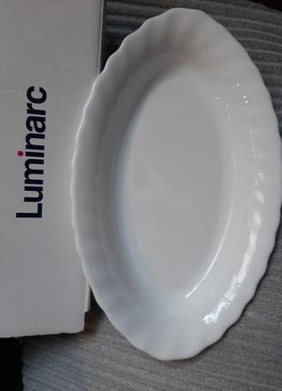 Luminarc,блюдо для рыбки,селедочник