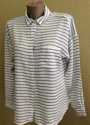 Женская блуза рубашка marc o'polo р 36 (s-m)
