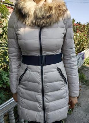Зимняя курточка snowimage, пух 70%, перо 30%