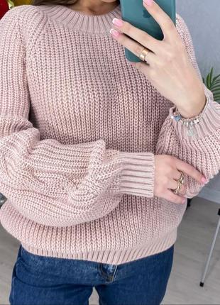 Базовый шерстяной свитер без горла