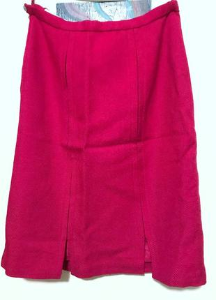 Шерстяная плотная юбка