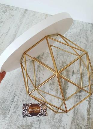 Тортовница металлическая металл під торт тортівниця металева підставка подставка