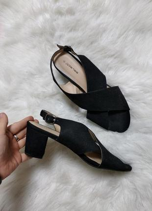 Женские босоножки на устойчивом каблуке босоніжки туфли на широкую ногу