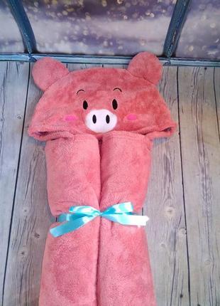 Полотенце уголок свинка