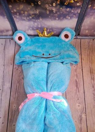 Полотенце уголок на кнопках жабка