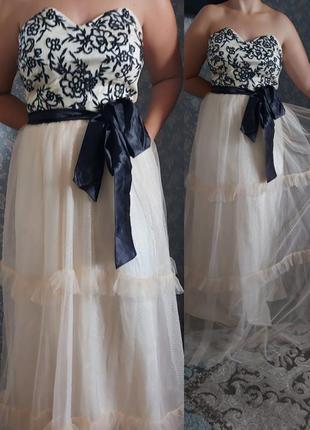 Вечернее выпускное очень красивое платье