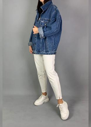 Объемная джинсовая куртка джинсовка винтаж blacksmith.
