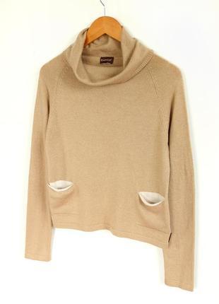 Свитер с высоким горлом moncler vintage knited wool turtleneck sweater