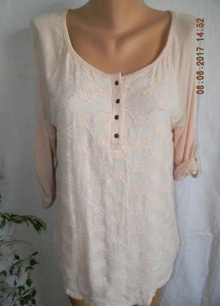 Новая блуза с кружевом falmer