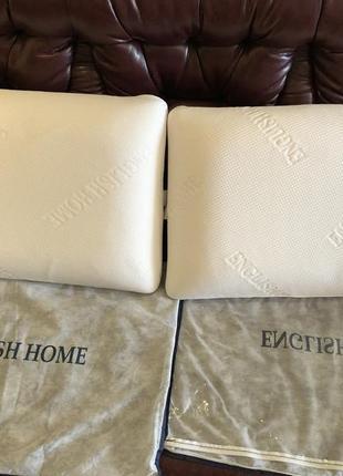 Две ортопедические подушки english home 50x70