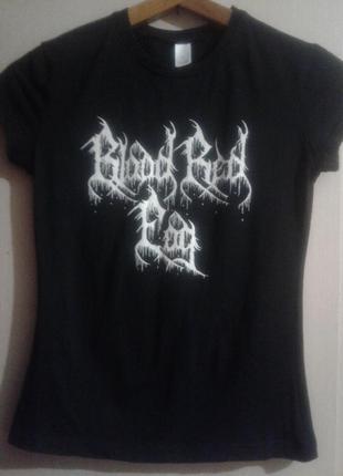 Футболка blood red fog black metal