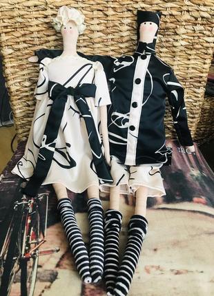 Интерьерные куклы в стиле тильда, пара