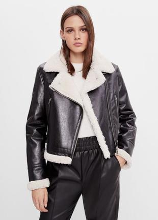 Двусторонняя куртка bershka