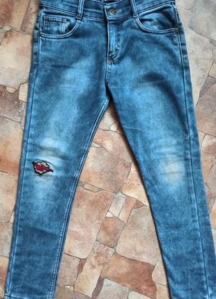 Плотные осенние джинсы