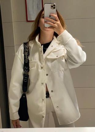 Рубашка тёплая кашемир рубашка пальто осень