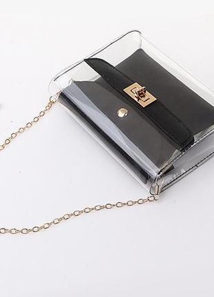 Прозрачная женская сумка