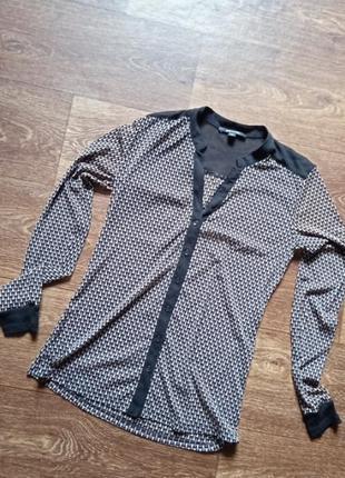 Стильна блузка шифонова comma розмір 36/42/44 обмен