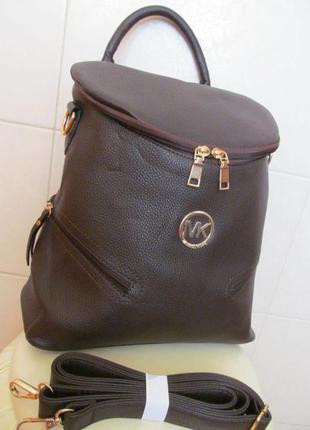 Молодежный городской рюкзак мк из эко кожи