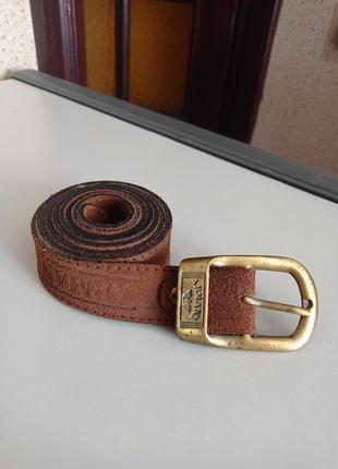 Armani кожаный ремень пояс. натуральная кожа