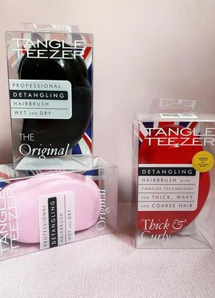 Расчёски для волос tangle teezer wet and dry