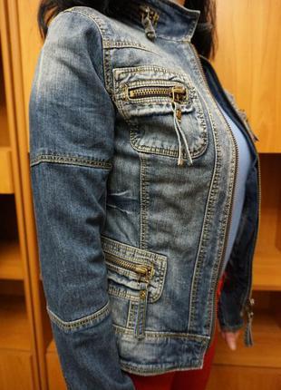 Куртка джинсовая джинсовка amnezia