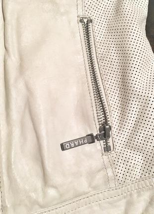 Фирменная кожаная куртка phard