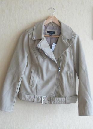 Куртка байкерская forever 21 размер l