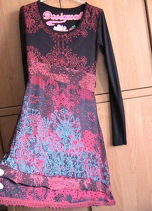 Платье desigual. оригинал.