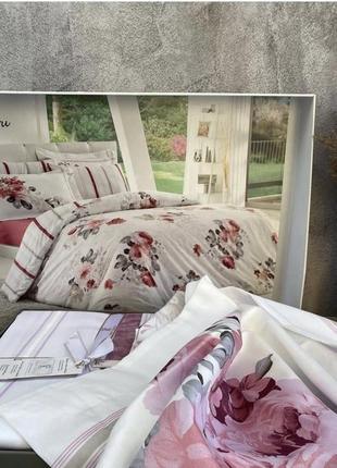 Турецкие комплекты постельного белья, сатин